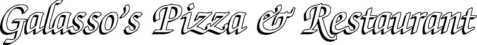Galasso's Pizza & Restaurant | 48 Bridge St., Frenchtown, NJ | (908) 996-2511